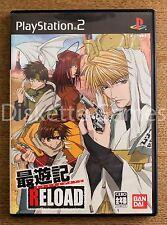 SAIYUKI RELOAD - PLAYSTATION 2 PS2 PLAY STATION 2 - NTSC JAPAN JAP CD VOICE