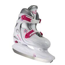 American Athletic Shoe Girl's Adjustable Figure Skates, White, Medium Sizes 1-4
