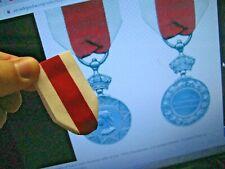 "/Medal Ribbon for British Abyssinian War medal,L- 6"""