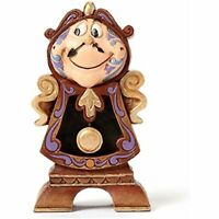 Disney Traditions by Jim Shore Cogsworth Stone Resin Figurine - Ships Globally!