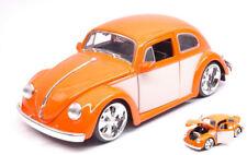 Vokswagen VW Beetle 1959 Orange / Cream 1:24 Model JADA TOYS