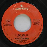 Hear! Northern Soul Deep 45 Willie Hightower - I Love You So / Easy Lovin' On Me