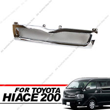 Electroplate Honeycomb Front Grille Grill For Toyota Hiace 200 Series 2010-13