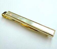 Gold Mother of Pearl Tie Slide Stones Tie Clip  MOP Tie Bar 100 for 7 items