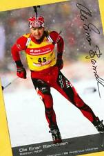 Ole Einar Björndalen (7) Autograph Picture Large Format 15 x 21 + Ski AK FREE