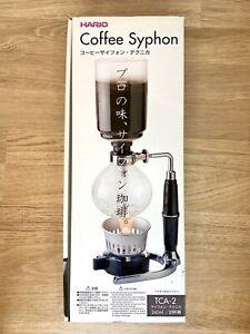 Hario Coffee Syphon Technika 2cup Modell TCA-2, wie NEU