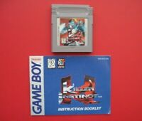 Killer Instinct with Manual Nintendo Original Game Boy *Nice Looking Game*