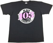 Vintage Kat Country 103 Fm Radio Station Graphic Single Stitch Men's T-Shirt