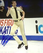 Ryan Bradley Figure Skating USA Olympics Signed 8x10 Autographed Photo COA E3