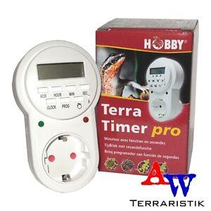 Hobby Terra Timer pro Digitale Sekunden Zeitschaltuhr