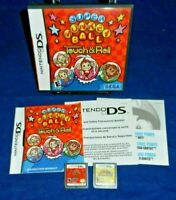 Nintendo DS; Super Monkey Ball:Touch & Roll, w/Manual, Kirby Super Star Ultra,VG