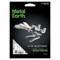 Fascinations Metal Earth A-10 Warthog US Air Force Jet Fighter 3D DIY Model Kit