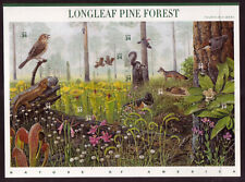US #3611 Longleaf Pine Forest 34 Cents Complete Sheet of 10 Mint Never Hinged