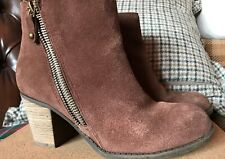 Skechers ❤️ Ankle Suede Shoes Boots Size 3