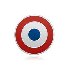 PIN0035 Pins Cocarde Française France Drapeau Bleu Blanc Rouge Email Haute Quali
