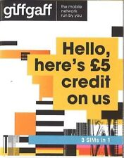 Prepaid sim card giffgaff uk £ 5 balance free shipping iPhone s8 gifgaf s8 s8+ s9