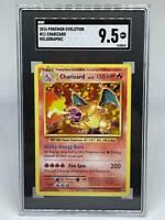 Pokemon Charizard 11/108 XY Evolutions Holographic - SGC 9.5 PSA