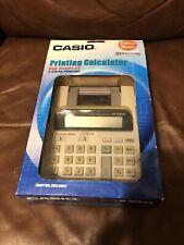 Casio Desktop Printing Calculator Adding Machine Two-Color HR-100TE PLUS W