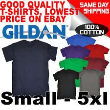 Mens Plain Blank Heavy Cotton Gildan Premium T-Shirt Tee tshirt T Shirt Shirts