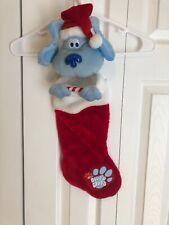 "2004 Blue's Clue's Nick Christmas Stocking 22"""