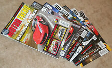MOTOR TREND Magazine 7 Issues FEB 2010 APR JUL AUG SEP OCT 2011 MAY 2013