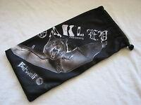 OAKLEY BATWOLF EDITION MICRO FIBER SOFT CLOTH SUNGLASSES BAG CASE LARGE NEW