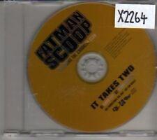 (CL887) Fatman Scoop ft The Crooklyn Clan, It Takes Two - 2003 DJ CD