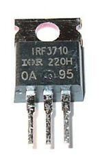 IRF3710 HEXFET Power MOSFET  -  100V  -  57A  - TO-220AB Case - 200 Watt