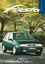 Ford Fiesta 1996-97 UK Market Sales Brochure Ghia X Si LX Encore