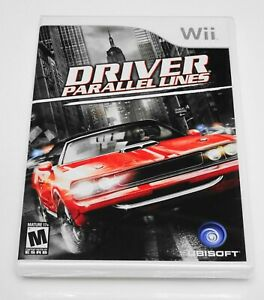 DRIVER: Parallel Lines 🏎️ (Nintendo Wii, 2007) 🏁 NEW FACTORY SEALED MINTY