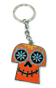 Disney Pixar Keychain Key Chain Coco Sugar Skull Cinepolis Day of The Dead Movie