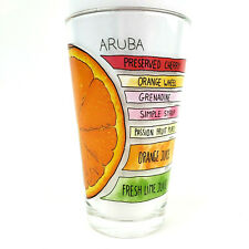 Aruba Drink Cocktail Recipe 12oz Pint Glass