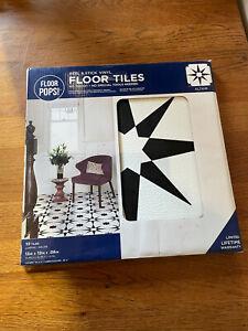Wallpops FP2948 Altair Peel And Stick Floor Tiles