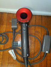 Dyson Supersonic Hair Dryer - Iron/Red Used HD01 Dryer only no attachments