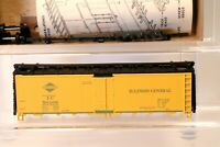 Athearn HO Scale Illinois Central 40' Reefer Car Kit 5026