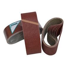 ECKRA® Schleifbänder 75 x 510 mm Menge + Korn wählbar Gewebebänder Schleifpapier