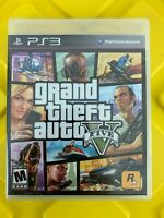 Grand Theft Auto V Sony PlayStation 3 Black Label GTA 5 Read Description