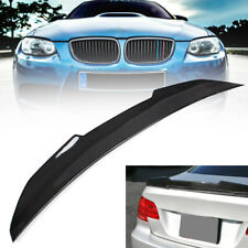 FOR 07-12 BMW E92 M3 335i 328i PSM Type Highkick Carbon Fiber Trunk Spoiler Wing