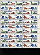 200 Years Postal Service -Trains & Planes -  Full Sheet Mint Never Hinged