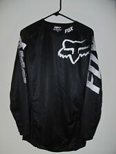 Fox Head Blackout Long Sleeve Motorcross Top Shirt - Mens S