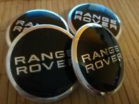4 pcs 63 mm RANGE ROVER LAND ROVER logo Alloy Wheel Center Caps Hub Caps Rim Cap