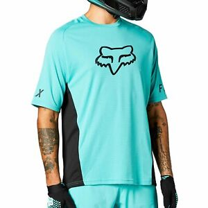Fox Defend Mens Short Sleeve Jersey Teal