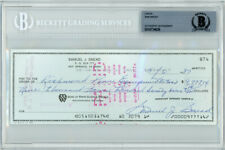 SAM SNEAD AUTHENTIC AUTOGRAPHED SIGNED 3X8 CHECK IN BLUE BECKETT 139096
