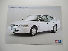 HOLDEN VP COMMODORE FORMULA SALES  BROCHURE   HSV