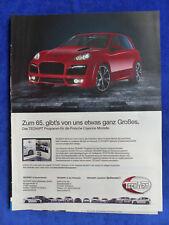 Techart Porsche Cayenne - Werbeanzeige Reklame Advertisement 2011 __ (169-2