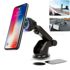 Universal Car Dashboard Magnetic Phone Holder 360 Rotation With Mounting Plate