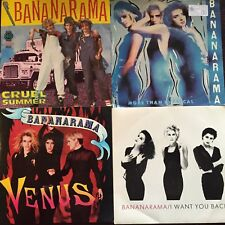 "BANANARAMA - - Collection of 4 Australian 7"" Records ( Lot 1) EXC"