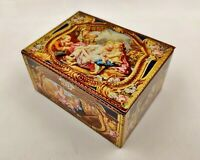 Vintage Advertising Confectionery Tin-Kemps Biscuits-Reproduction of Snuff Box