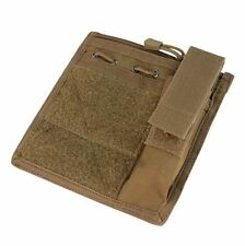 CONDOR MOLLE Modular Tactical ADMIN Pouch ma30-498 COYOTE BROWN