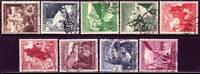 THIRD REICH 1938 complete Winterhilfswerk stamp set!